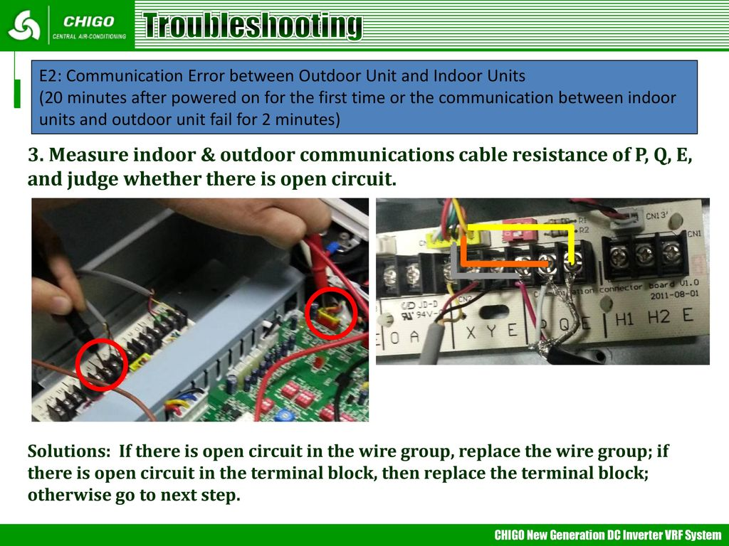 Vrf Trouble Shooting Mideappt Ppt Air Conditioner Electronical Circuit Board Buy Midea 24 Troubleshooting