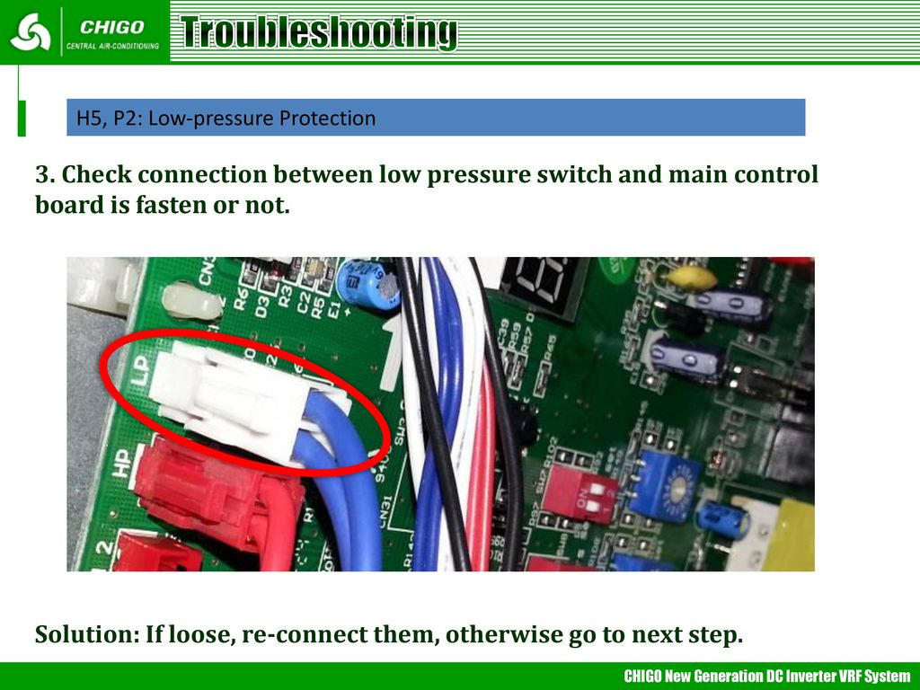 Vrf Trouble Shooting Mideappt Ppt Central Air Conditioner Circuit Board Photos 69 Troubleshooting