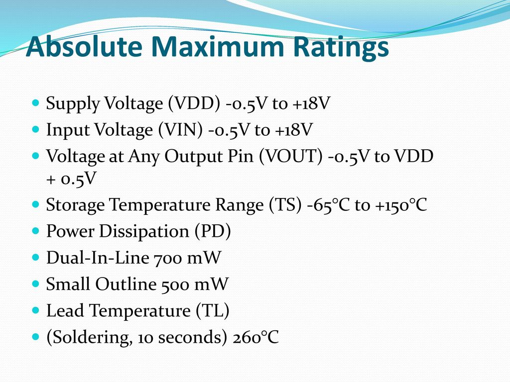 Double Input Z Source Dc Converter Ppt Download 18v Bipolar Regulated Power Supply Circuit Is Shown As Above 35 Absolute Maximum Ratings