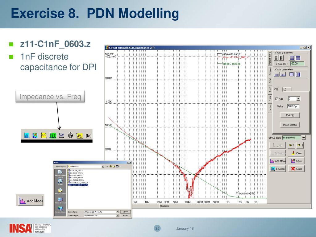 Emc Of Ics Practical Trainings Ppt Download Find The Thvenin Equivalent With Respect To 1nf Capacitor 25 Exercise 8