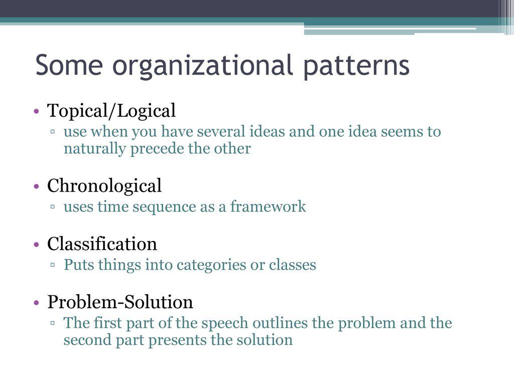 Topical Organizational Pattern Cool Decoration