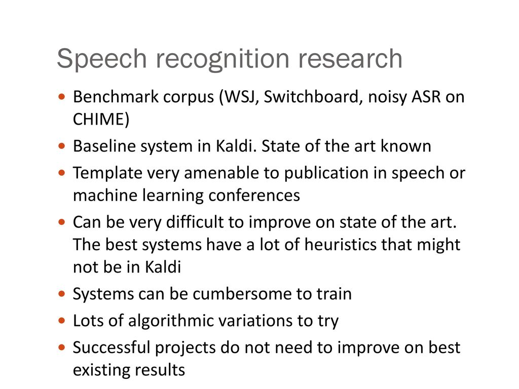 Kaldi Speech Recognition Api