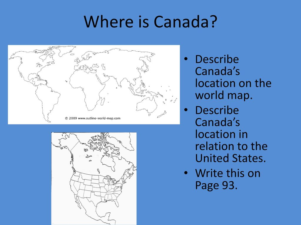 Physical Features Of Canada Ppt Download
