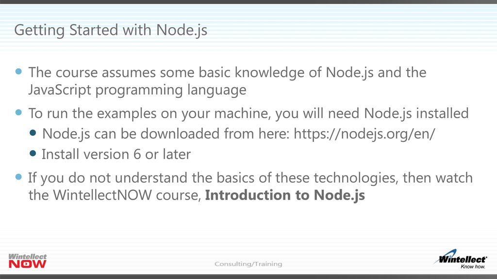 Node Js Modules Header Mastering Node Js Part 2 Eric W Greene