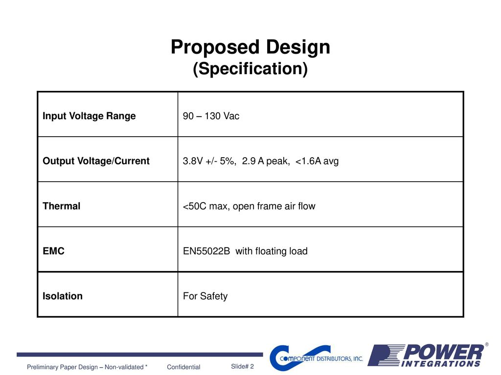 Proposed Power Supply Design Ppt Download Isolation Regulated Circuit Of Ne555 Powersupply 2