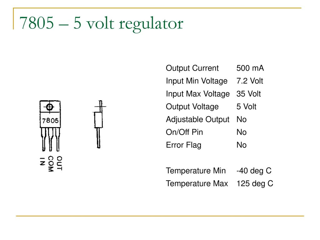 Diode Circuits And Dc Power Supply Ppt Download Current Output Multiplier For 78xx Regulator 15 7805 5 Volt