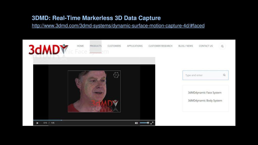 3D Data Capture Dan Collins Professor of Intermedia - ppt download