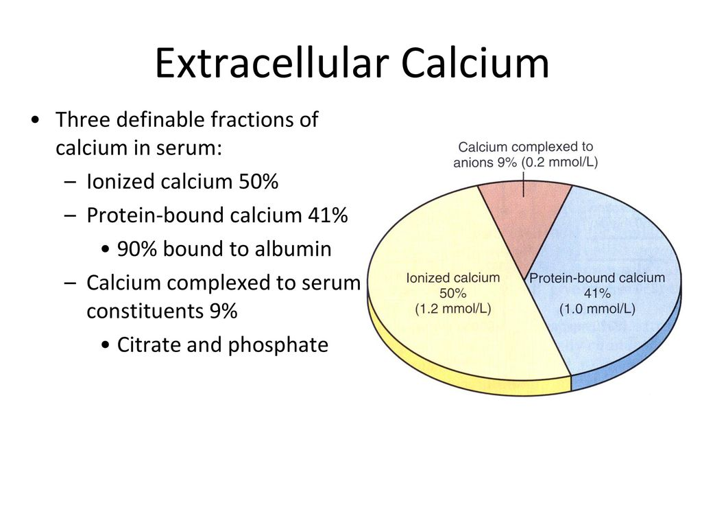 disorders of calcium metabolism: - ppt download