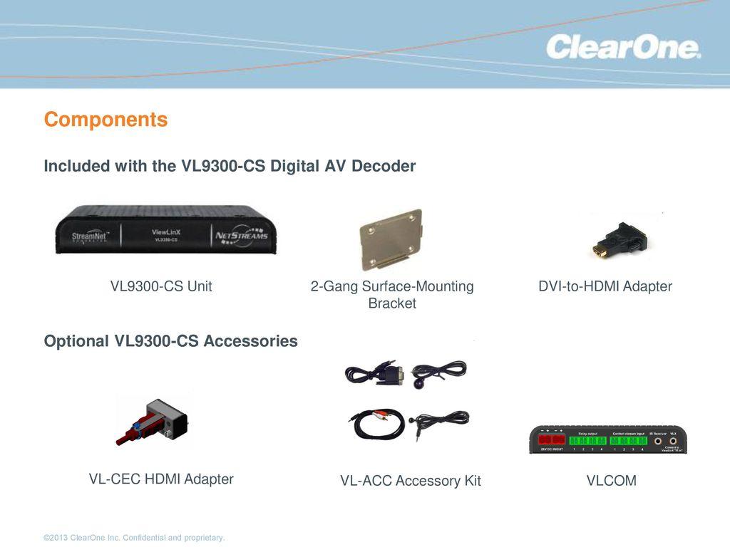 VIEWTM MLAV9500-CS Digital AV Encoder - ppt download