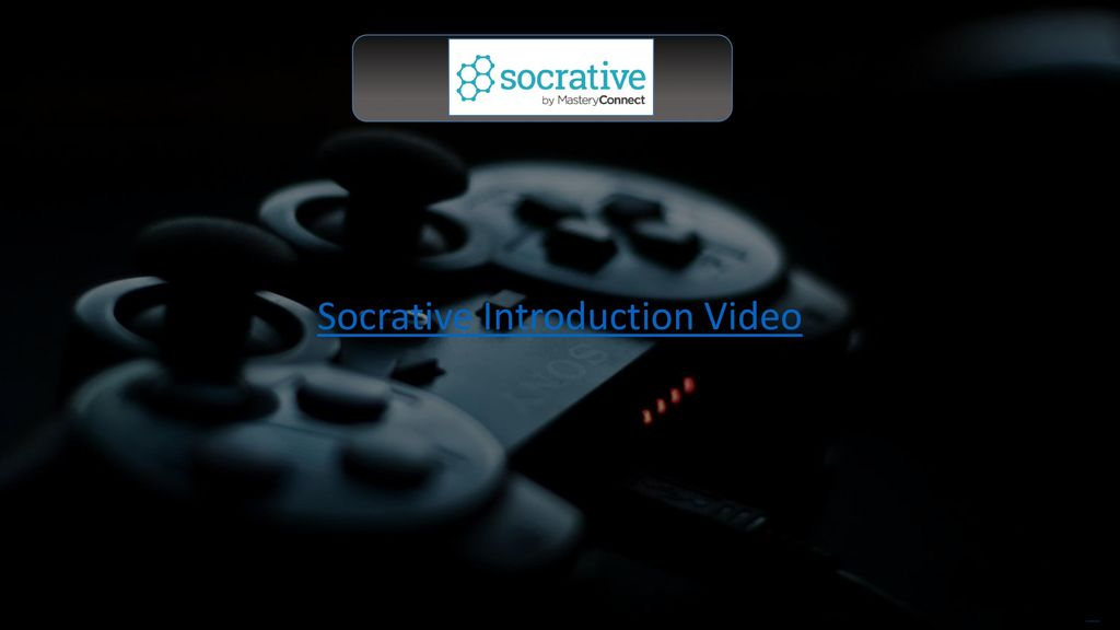 Gamification of the classroom ppt download socrative introduction video toneelgroepblik Choice Image