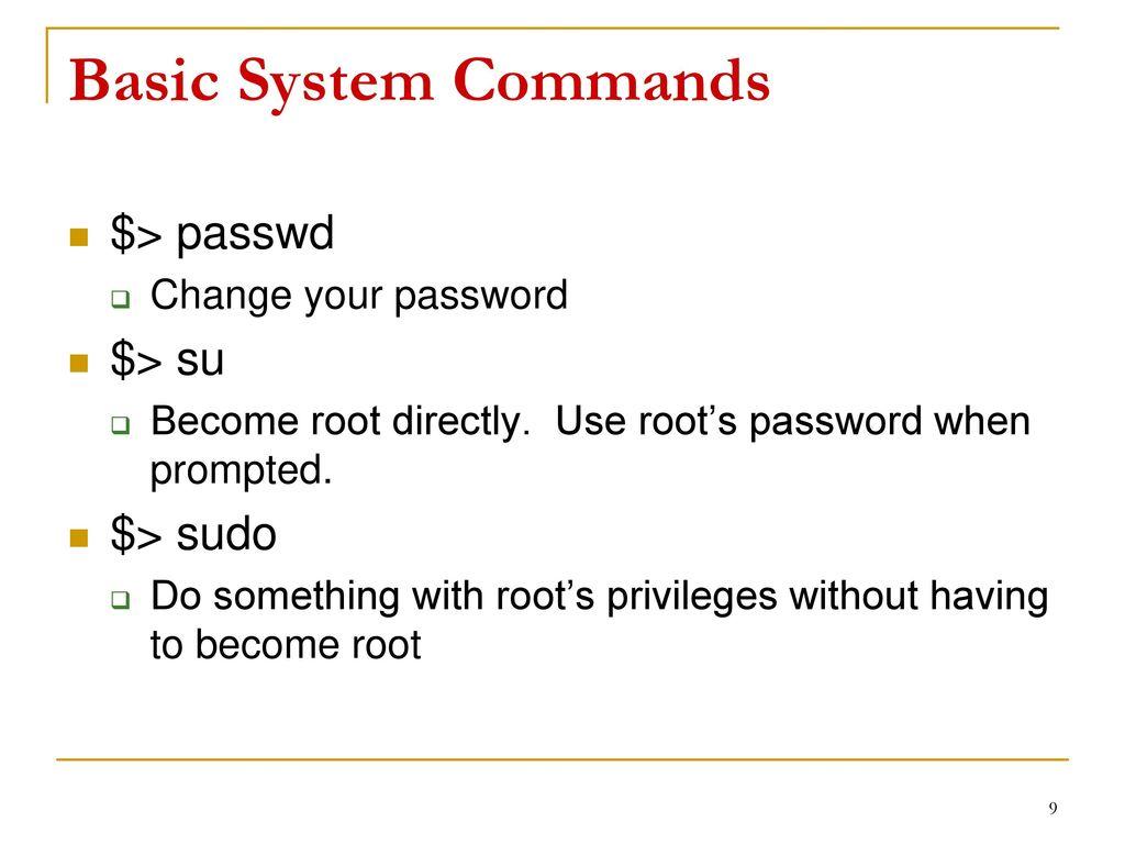 Operating System Kernel Compilation - ppt download