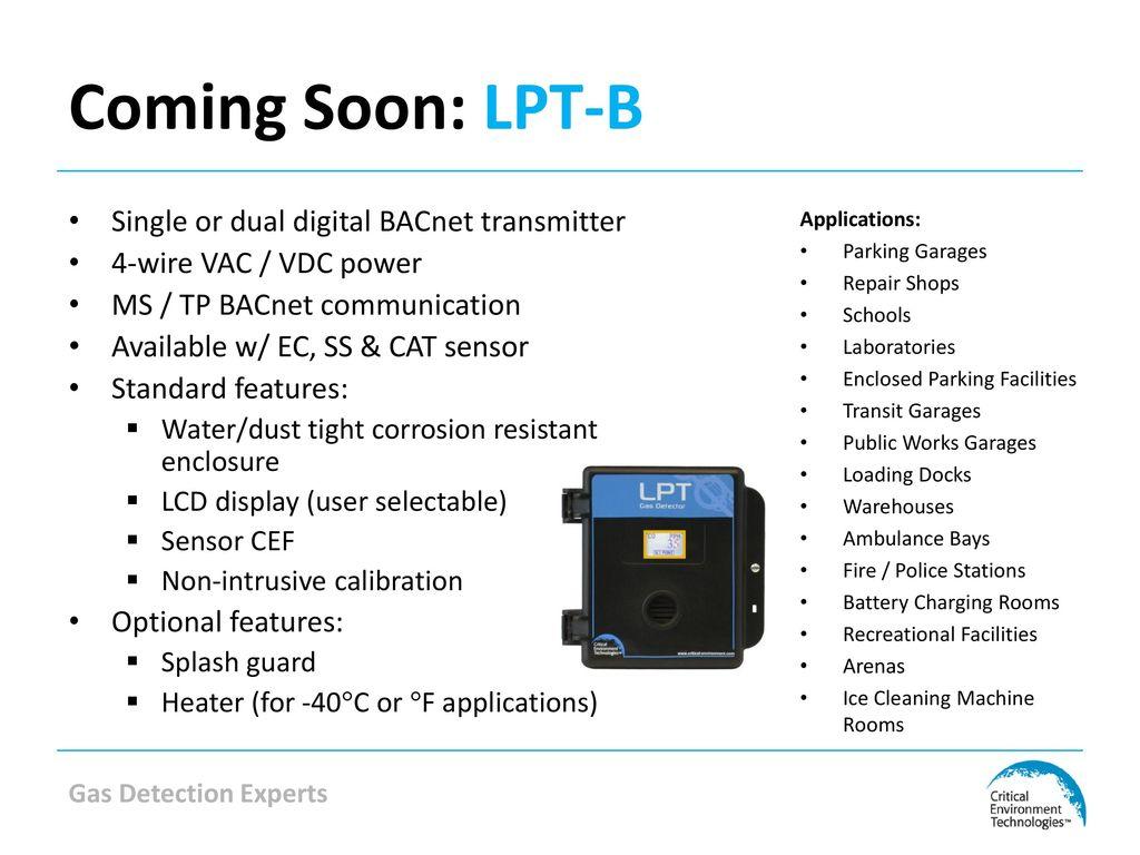 Ahr Expo 2014 Distributor Breakfast Meeting Ppt Download Bacnet Wiring Coming Soon Lpt B Single Or Dual Digital Transmitter