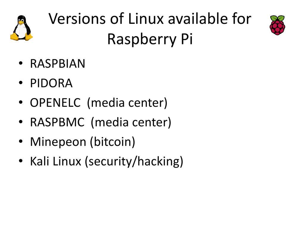 Raspberry Pi / Linux Workshop - ppt download