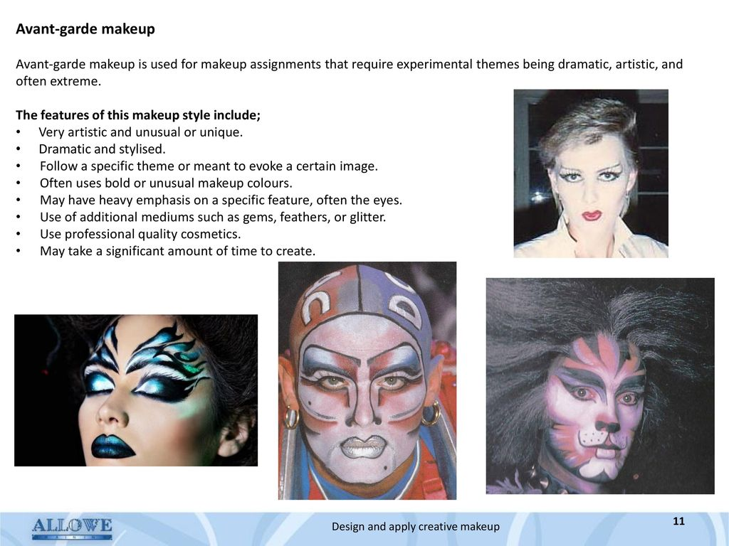 Design And Apply Creative Make Up Ppt Download - Avant-garde-makeup-themes