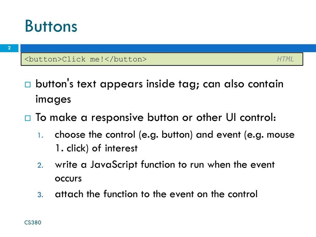 Intro to Javascript CS ppt download
