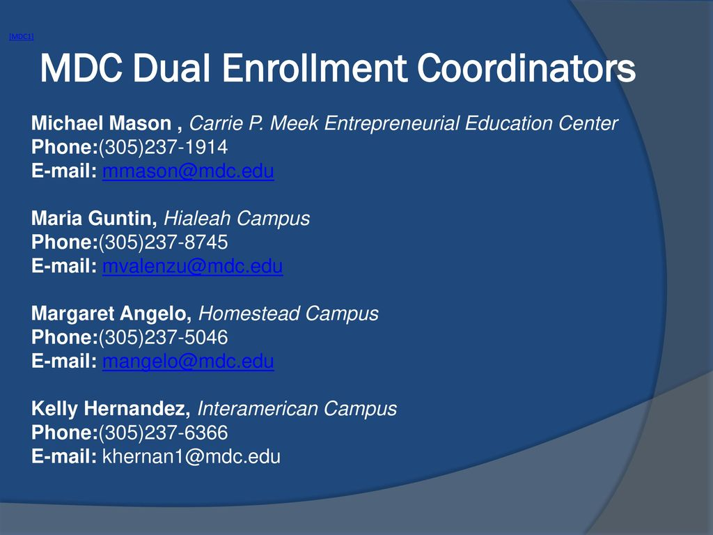 Dual Enrollment Presenter Maria A Martinez Alfonso Ppt Download