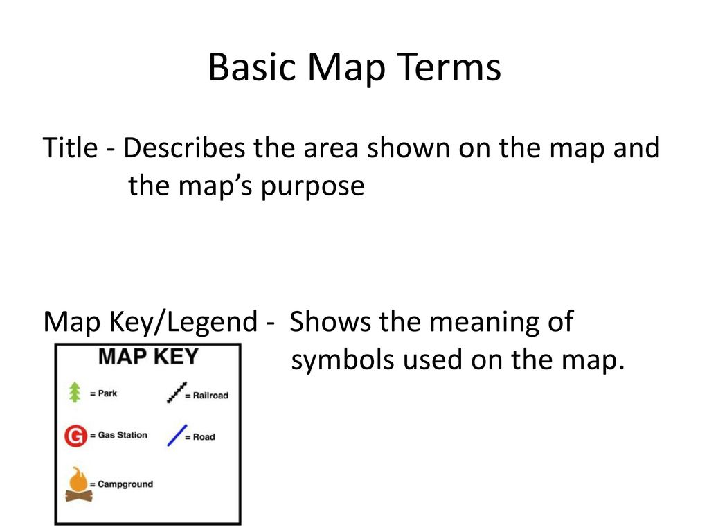 Map Skills Notes Ppt Download