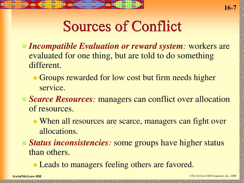 16 Organizational Conflict, Politics, and Change  - ppt download