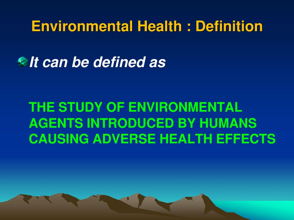 department of global environmental health sciences (gehs) - ppt download