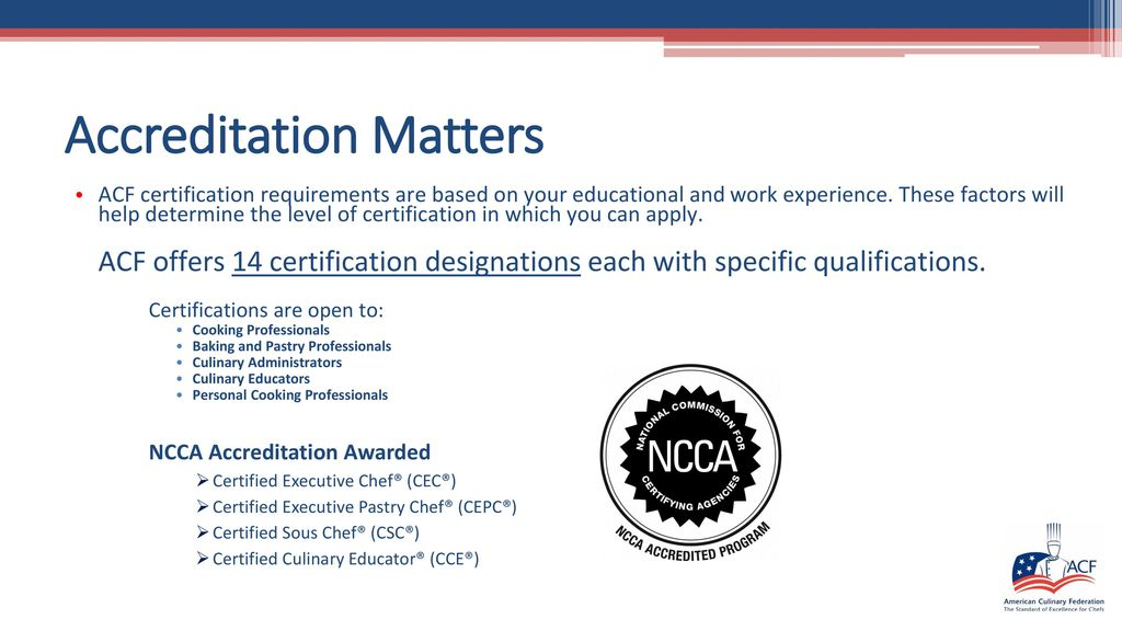 Certification Matters - ppt download