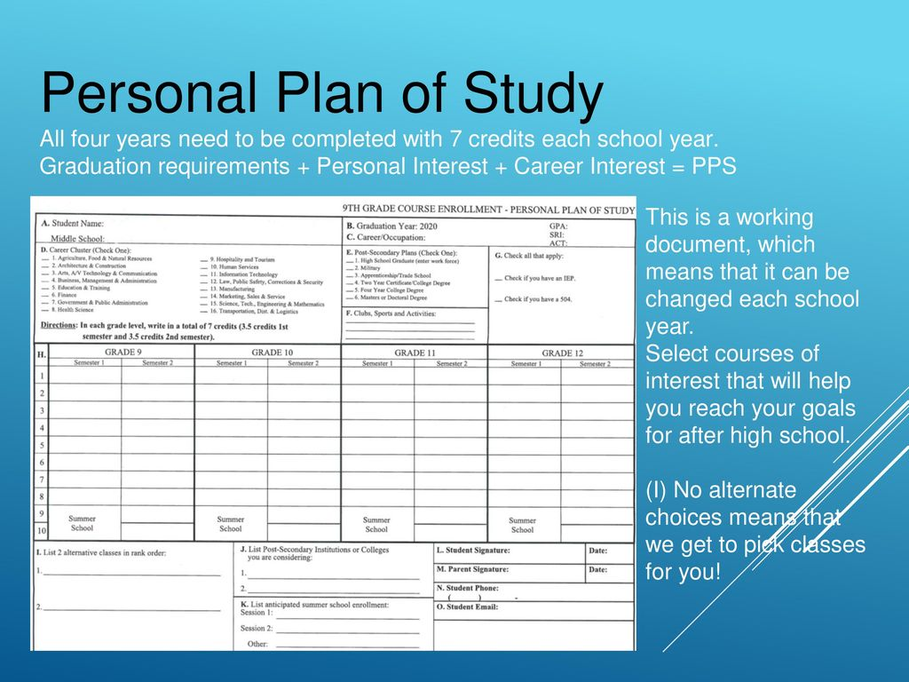 Enrollment for Barge Sophomore Year. - ppt download