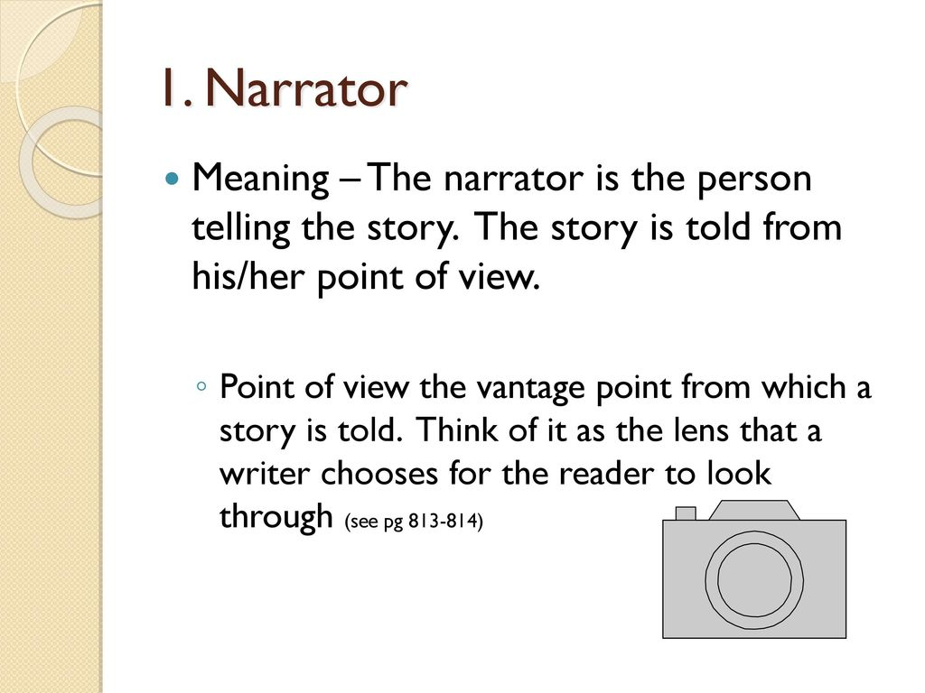 Narrator and Voice Who's Talking?  - ppt download