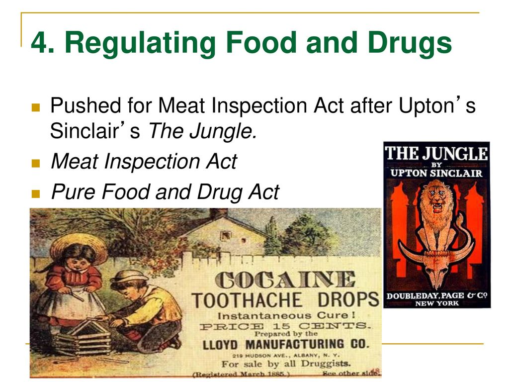 the jungle meat inspection act