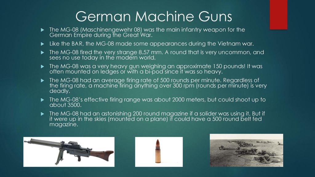 New Technologies Developed During World War One - ppt download