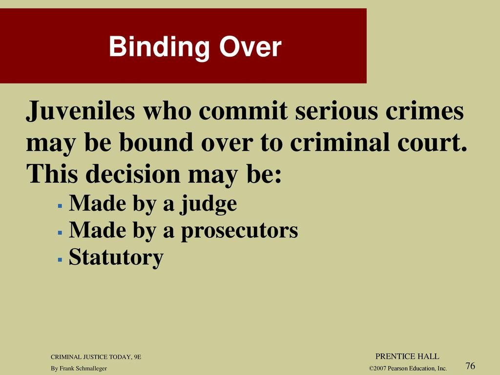 role of courts in criminal justice today