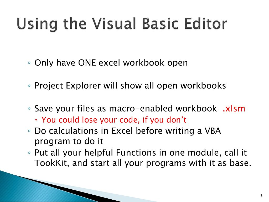 Workbooks vba workbooks.open : Originally by Andrew Waldron Revised 5/27/ ppt download