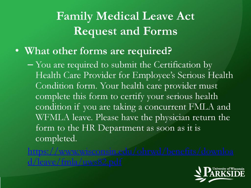 Family Medical Leave Act - ppt download