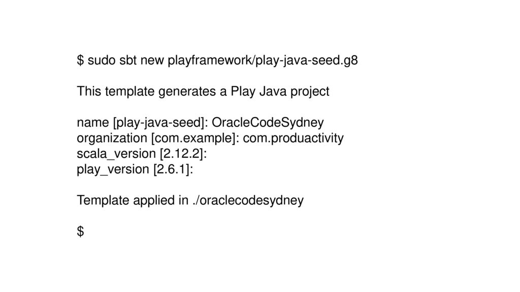 Rest Services with Play Framework, Adding Security with JWT - ppt ...