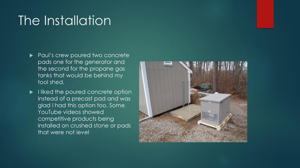 My Kohler Generator Installation, Model 20RESD - ppt download