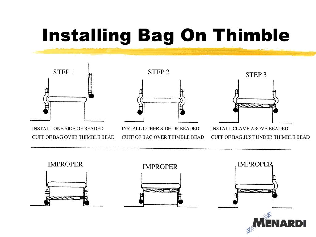 Baghouse 101 Training Presented By March 10 Ppt Download Pouch Wiring Diagram Installing Bag On Thimble