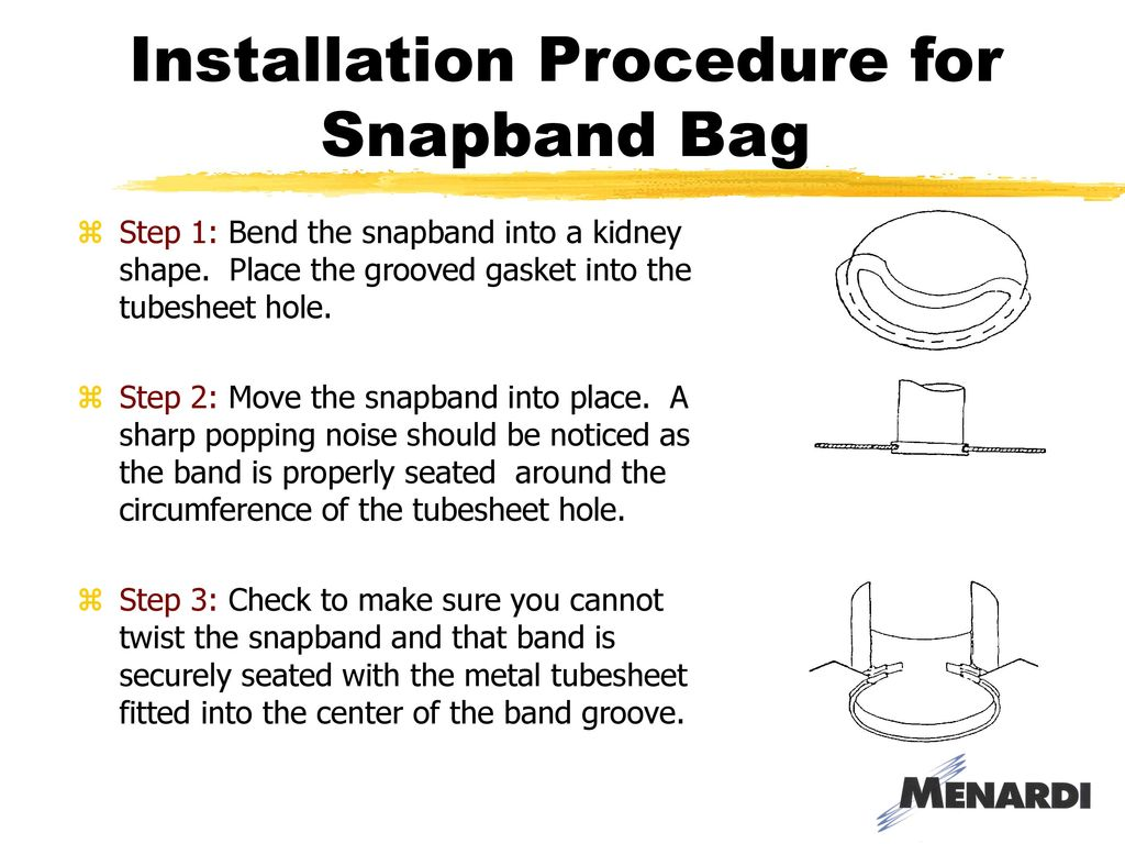 Baghouse 101 Training Presented By March 10 Ppt Download Pouch Wiring Diagram Installation Procedure For Snapband Bag
