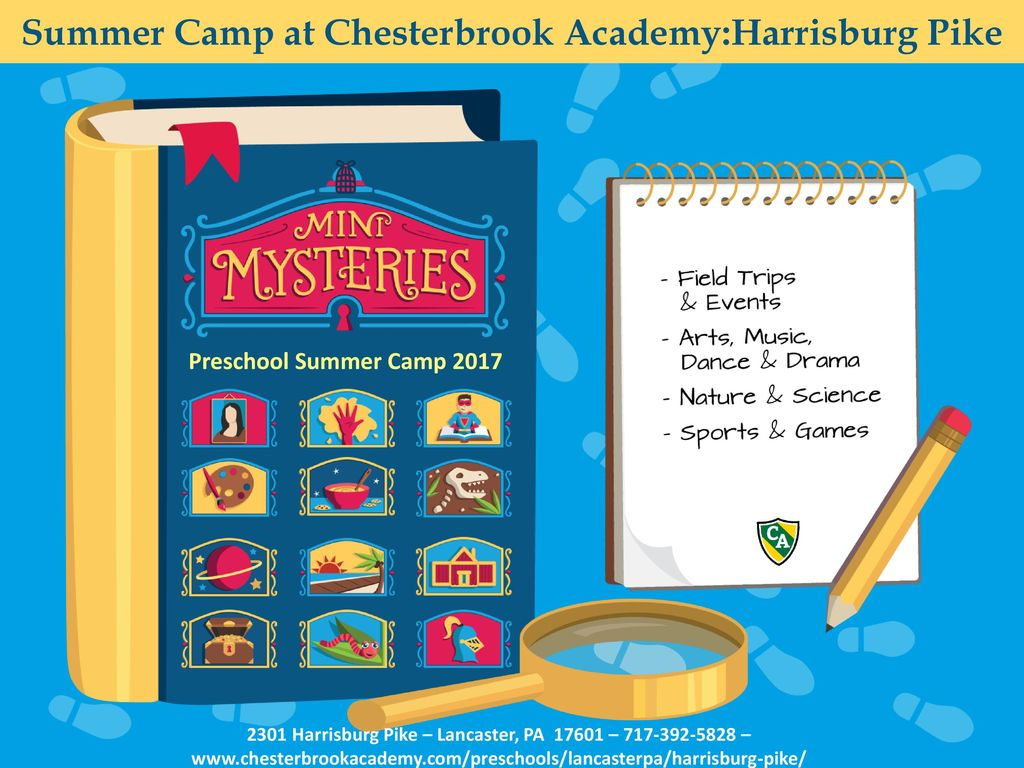 Summer Camp at Chesterbrook Academy:Harrisburg Pike - ppt