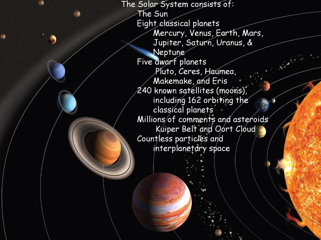 Chapter 2: Solar System Learning objectives: You will be ...