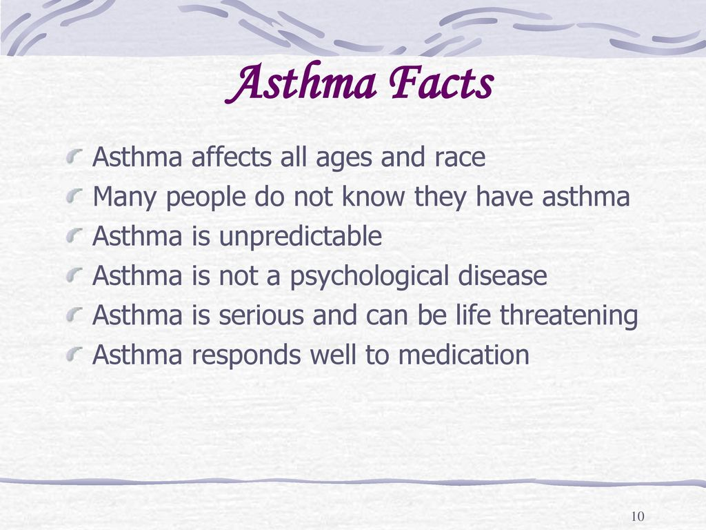10 Asthma Facts ...