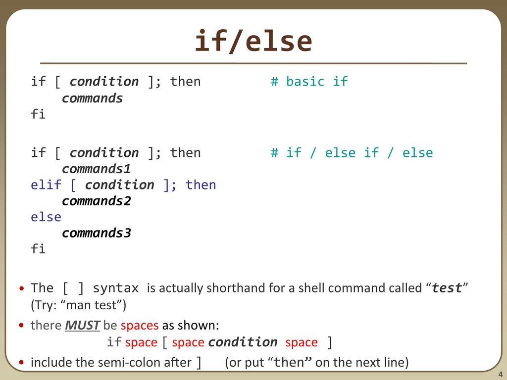bash scripting continued; remote X windows; unix tidbits - ppt download