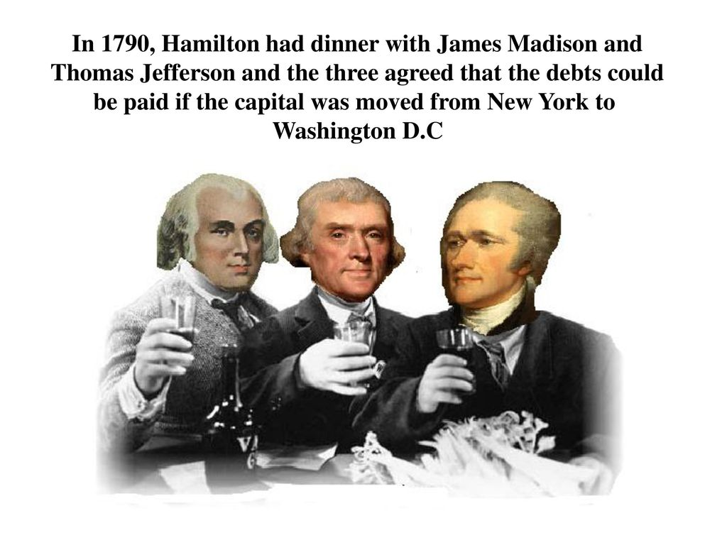 jefferson and hamiltons dispute It is common knowledge among students of early american history that thomas jefferson and alexander hamilton were arch enemies  john adams alexander hamilton dispute.