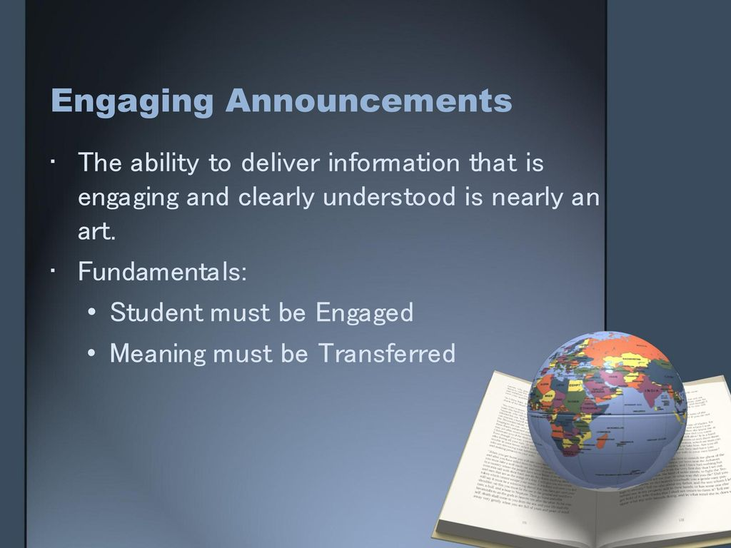 creating engaging announcements ppt download
