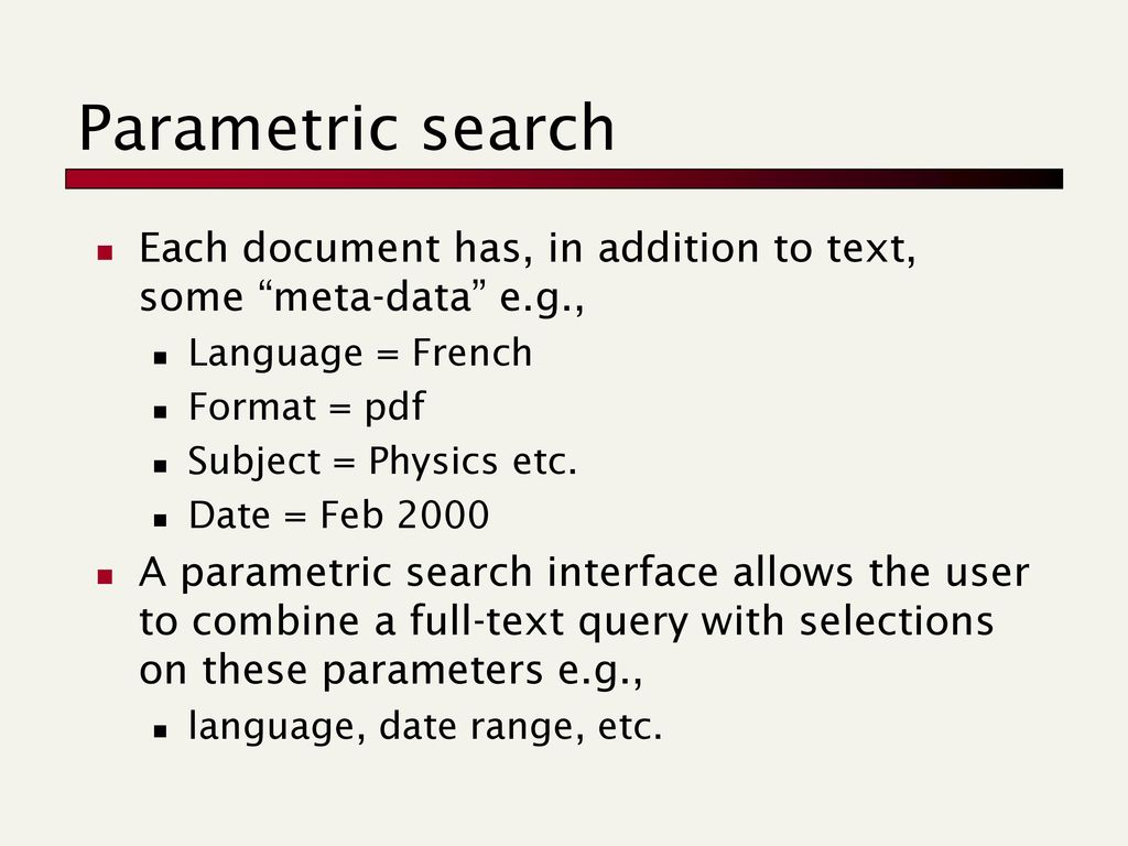 text retrieval and mining ppt download