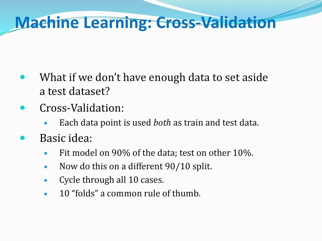 Machine Learning: Classification