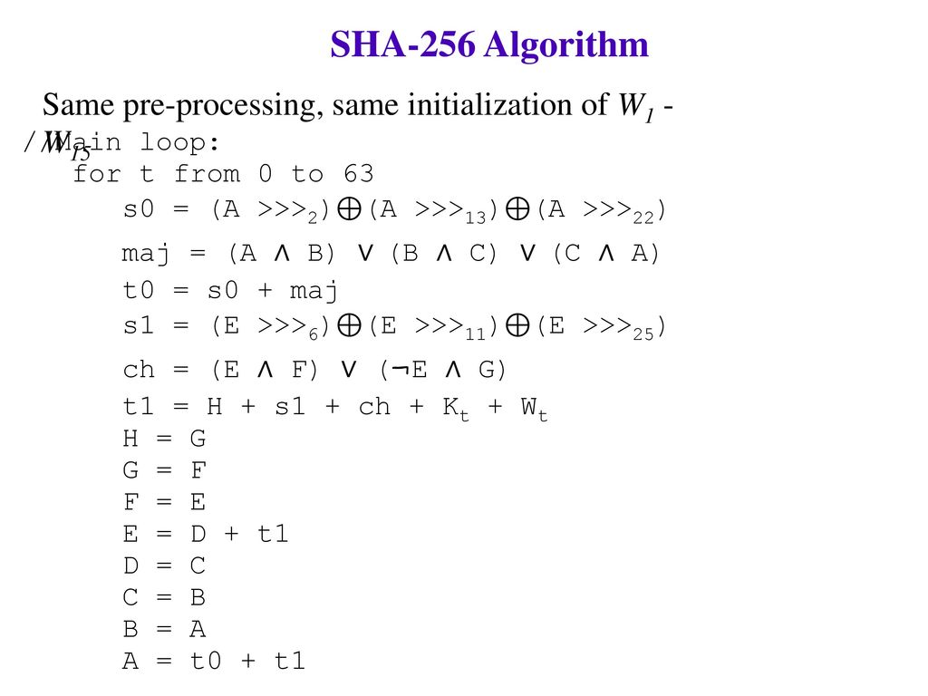 Hash Algorithms  - ppt download