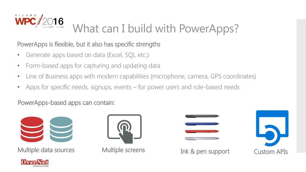 WPC057 - Introduzione a PowerApps e Microsoft Flow - ppt download