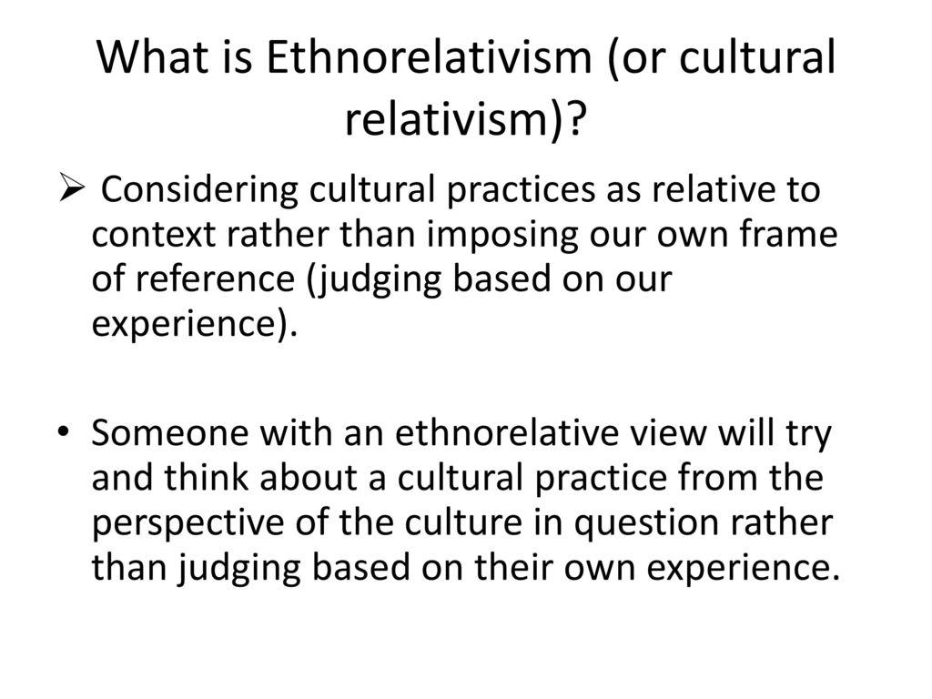 ethnorelativism