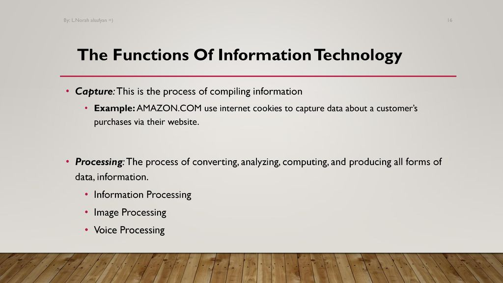 Introduction Of Information Technology Ppt Download
