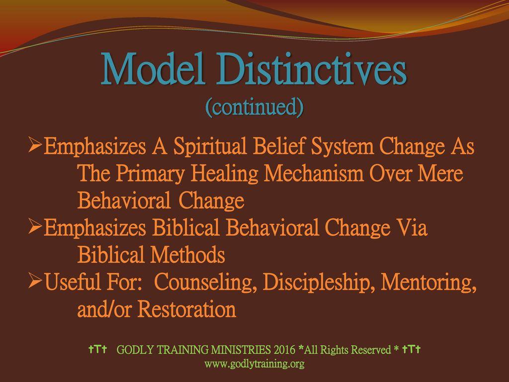 THE WALK APPLIED: A Biblical Model Of Human Behavior - ppt