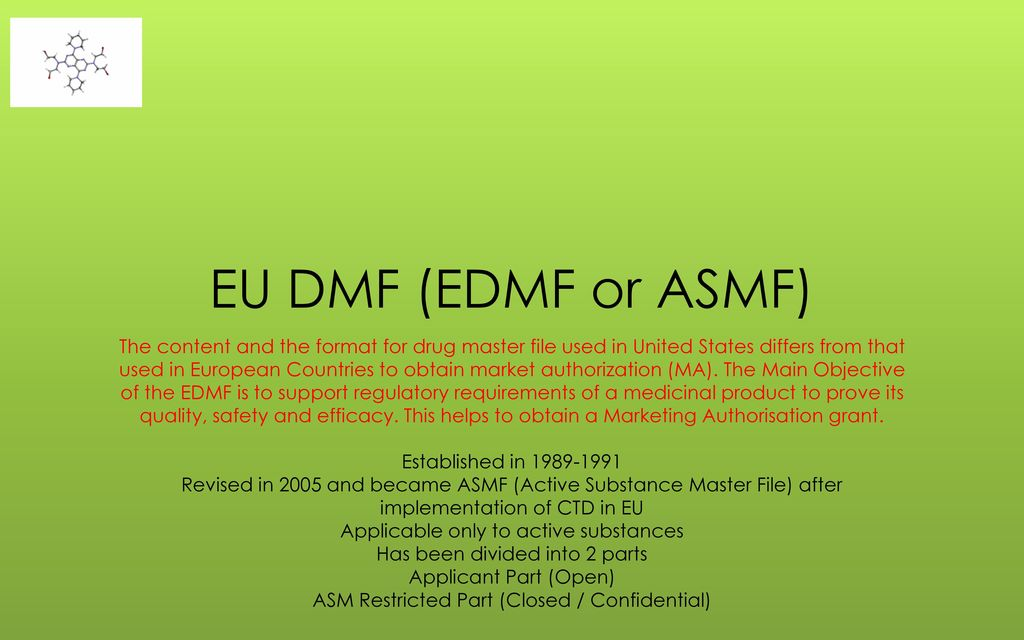 What is a Drug Master File? - ppt download