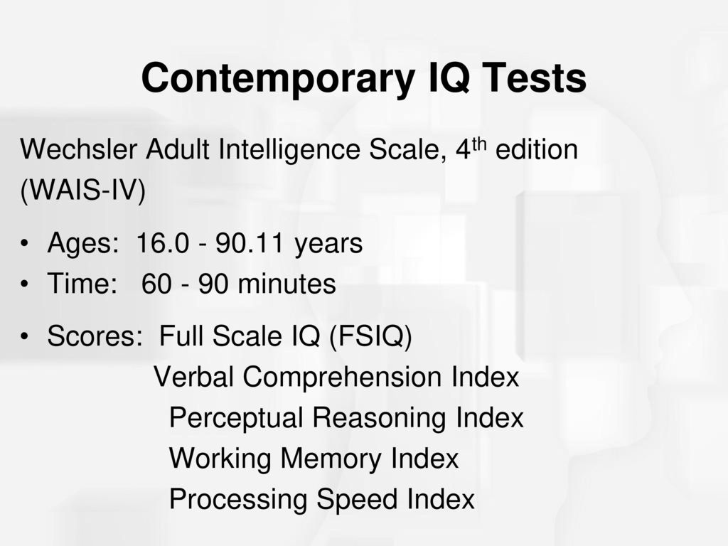 Wechsler adult intelligence scale-fourth edition.